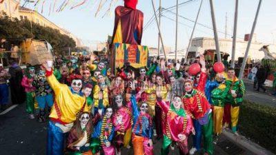 VIDEO, FOTO: Deset tisuća maškara sudjelovalo na jubilarnoj 35. Međunarodnoj karnevalskoj povorci @ Rijeka