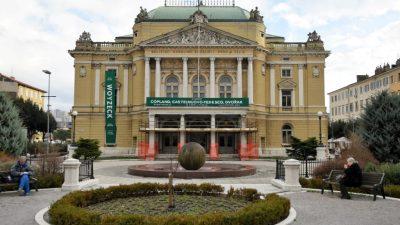 Zbog kvara na sustavu grijanja otkazani svi večerašnji programi u HNK Ivana pl. Zajca