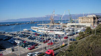 Dio Putničke obale zatvoren za parkiranje zbog postavljanja instalacija za svečano otvaranje Europske prijestolnice kulture