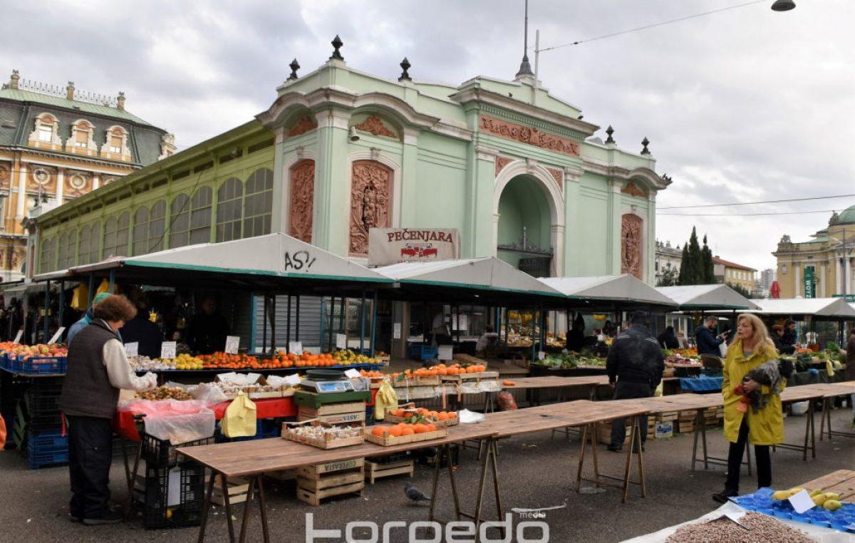 Obavijest Rijeka plusa o radnom vremenu tržnica