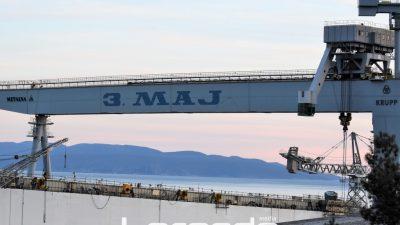 Radnici 3. maja izaći će na ulice i blokirati prometnice ako ne dobiju odgovor o sudbini brodogradilišta @ Rijeka