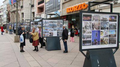 Korzo kao galerija: Izložbom fotografija započela proslava 25. obljetnice Grada @ Rijeka