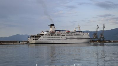 U OKU KAMERE: Kruzer Berlin uplovio u riječku luku – Ploveći hotel ostaje u gradu do kraja dana @ Rijeka