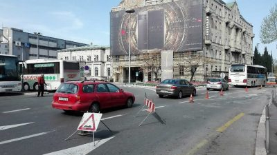 U OKU KAMERE: Radovi na prometnicama stvorili ogromne kolone u centru grada @ Rijeka