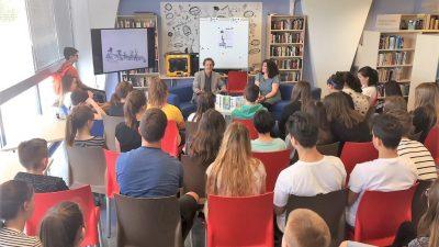 """David Homel predstavio """"Putujući cirkus"""" i objasnio kako pisati vlastiti roman """"na zadnjem sjedištu auta"""" @ Trsat"""