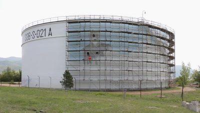 Rafineriju nafte Rijeka krasit će najveći oslikani spremnik u Hrvatskoj