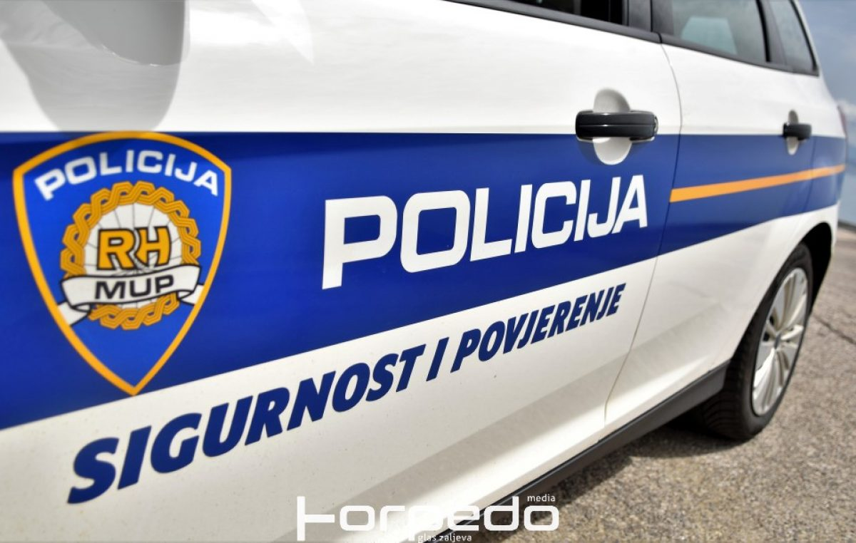 Kombijem u kojem je prevozio migrante zabio se u policijsko vozilo