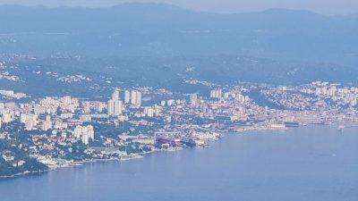 Kvarner tek na trećem mjestu po broju noćenja u prvih osam mjeseci, iza Istre i Splitsko-dalmatinske županije