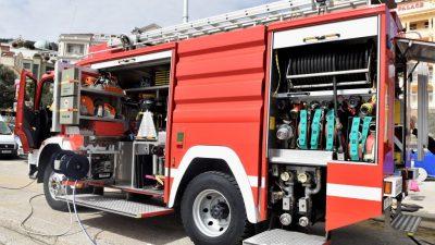 Požar osobnog vozila na području Matulja