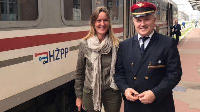 U OKU KAMERE: Njemački turisti vlakom u Gorski kotar