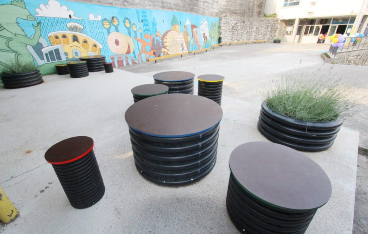 U OKU KAMERE Projekt ŠkuRi Dvori: uređeno dvorište Osnovne škole Škurinje @ Rijeka