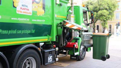 """KD """"Čistoća"""" predstavila svoje eko-vozilo: Kamion koji predstavlja velike godišnje uštede energije i novca @ Rijeka"""