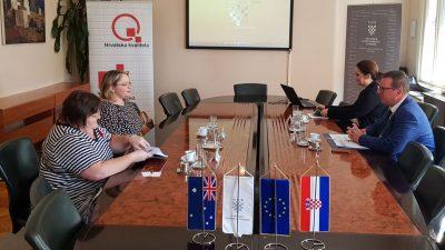 Veleposlanica Australije posjetila HGK – Županijsku komoru Rijeka