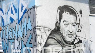 FOTO Prekrasna posveta prerano preminulom novinaru: Pogledajte kako izgleda mural za Korada Vujnovića @ Rijeka