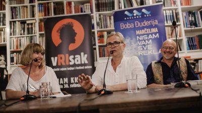 """Gostovanjem Bobe Đuderije i predstavljanjem knjige """"Marčelina"""" završio 11. Festival autora Vrisak @ Rijeka"""