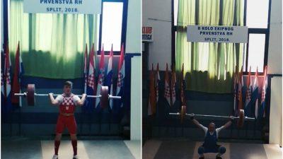 Klub dizača utega Kvarner osvojio drugo mjesto na 2. kolu Ekipnog prvenstva Hrvatske