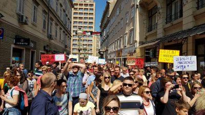 Hod za slobodu @ Rijeka