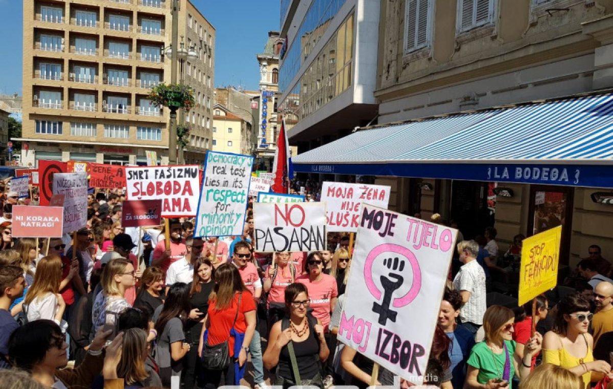 Projekcija filma 'Protuudar na pravo na pobačaj u Europi' najavljuje ovotjedni Hod za slobodu