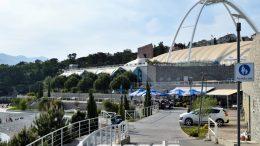 Snima se visokobudžetna francuska komedija o vaterpolu – Privremeno zabranjeno parkiranje kod bazena @ Rijeka
