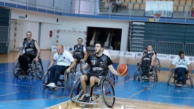 Zanimljivim dvobojima pod obručima otvoren 11. kup Hrvatske u košarci u kolicima @ Kostrena
