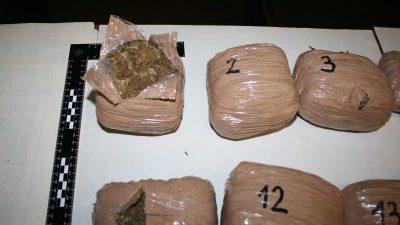 Policija na Čavlima u vozilu ZG tablica pronašla veću količinu marihuane