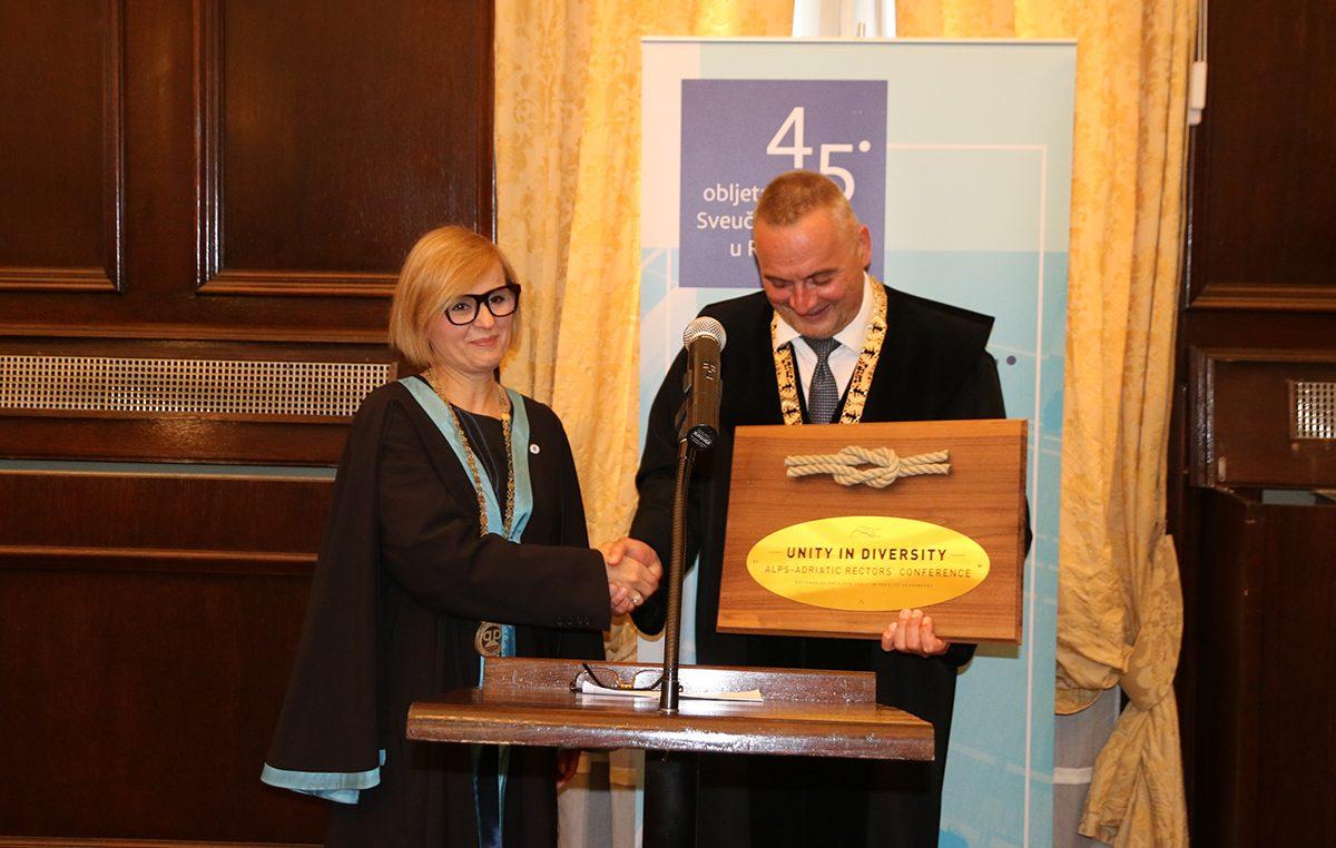 Riječko Sveučilište preuzelo predsjedanje Rektorskom konferencijom Alpe – Adria