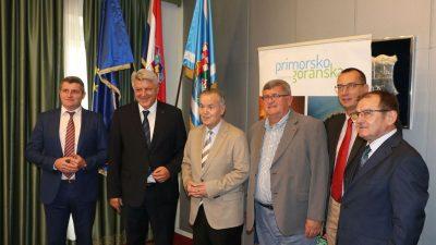 Veleposlanik Rumunjske Constantin Mihail Grigorie posjetio Županiju i Grad Rijeku