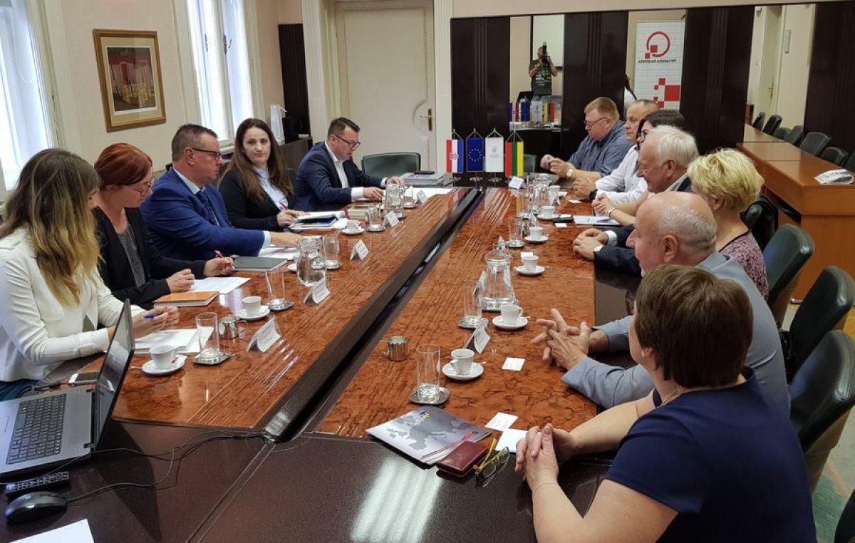Poslovno povezivanje s Litvom – Delegacija litavske gospodarske komore u posjeti riječkim kolegama