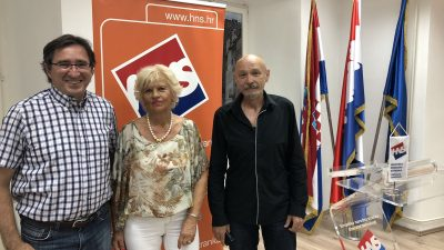 Smiljana Fulgo nova je predsjednica HNS-a Viškovo, a tajnik Miroslav Črnac