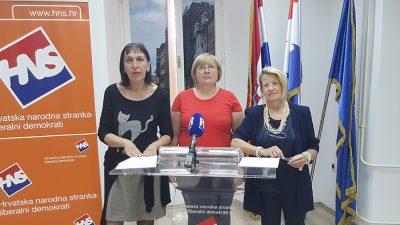 """Novo vodstvo Ženske inicijative riječkog HNS-a poručilo: """"Stop diskriminaciji žena na tržištu rada"""""""