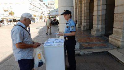 Policija savjetovala građane i turiste