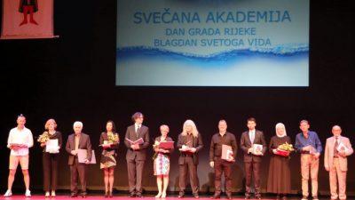 Svečana sjednica Gradskog vijeća: Dodijeljena javna priznanja Grada Rijeke