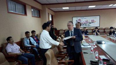 Značajno priznanje za riječkog profesora: Josipu Brniću počasno zvanje Visiting Professor na Shenyang University of Technology