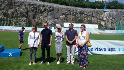Erste Plava liga – Otvoreno jedinstveno dječje sportsko natjecanje  na stadionu Kantrida @ Rijeka