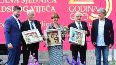 Svečana sjednica Gradskog vijeća – Radenko Srdoč dobio nagradu za životno djelo @ Kastav