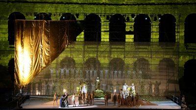 FOTO Spektakularna riječka 'Aida' u velikom stilu vratila operu u Arenu @ Pula