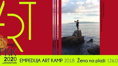 Večeras prvi dan Art kampa Empeduja: Javno čitanje na plaži i koncert dua Lucky & Rose