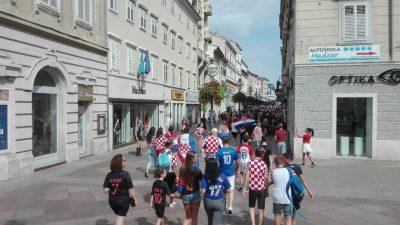 VIDEO Kreće navijačko ludilo! Rijeka je spremna za najveći trenutak hrvatske sportske povijesti