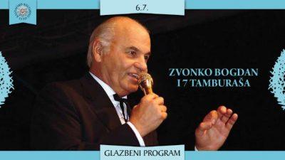 Zvonko Bogdan i sedam tamburaša na 27. KKL-u