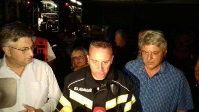 Poprište katastrofe i smrti: Župan Komadina obišao Psihijatrijsku bolnicu Lopača stradalu u plamenu