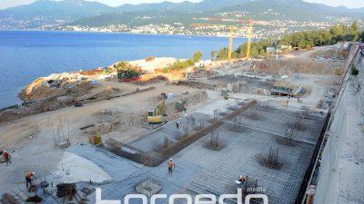 FOTO Gradilište aktivno i usred ljeta – Turistički kompleks Costabella polako dobiva svoje konture