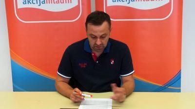 Spašavanje vojnika Danka Švorinića – Tihomir Čordašev iz Akcije mladih priopćenjem za medije reagirao na nedavne medijske istupe Danka Švorinića i Liste za Rijeku