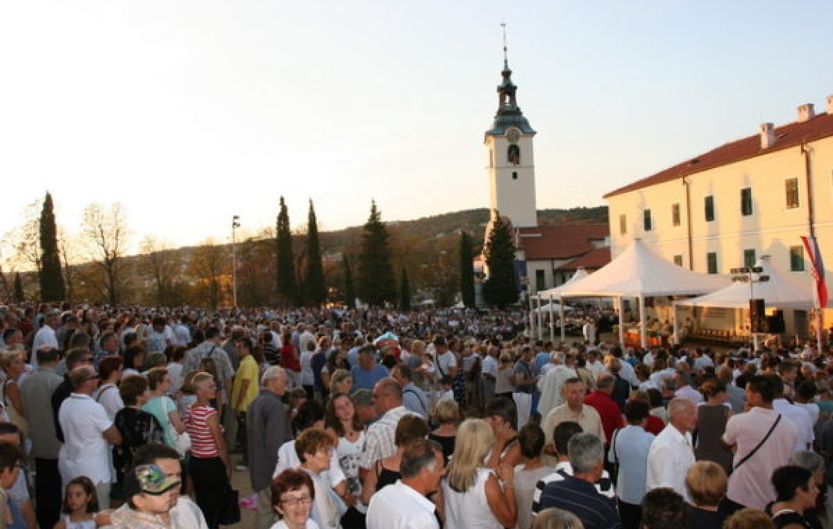 Sve je spremno za proslavu blagdana Velike Gospe: Pripremljen bogat vjerski program za tisuće hodočasnika