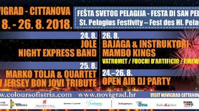Fešta svetog Pelagija u Novigradu – Bogat program proslave gradskog zaštitnika
