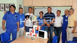 FOTO Lopta vrijedna 75 tisuća kuna donijela Dječjoj bolnici KBC-a Rijeka donaciju vrijedne medicinske opreme