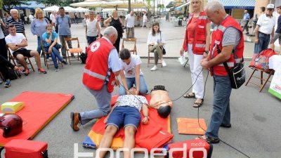FOTO Obilježen Svjetski dan prve pomoći – Prvi ljudi koji se zateknu na mjestu nesreće zaslužni za 90 posto spašenih života