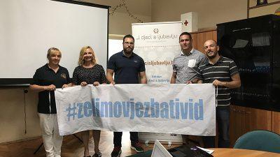 """Riječka udruga """"..i djeci s ljubavlju"""" u Osijeku prezentirala nacionalni projekt """"Želimo vježbati vid"""""""