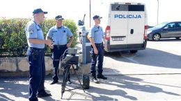 FOTO Edward donio kazne – Policija jučer pojačano kontrolirala promet i evidentirala 113 prometnih prekršaja