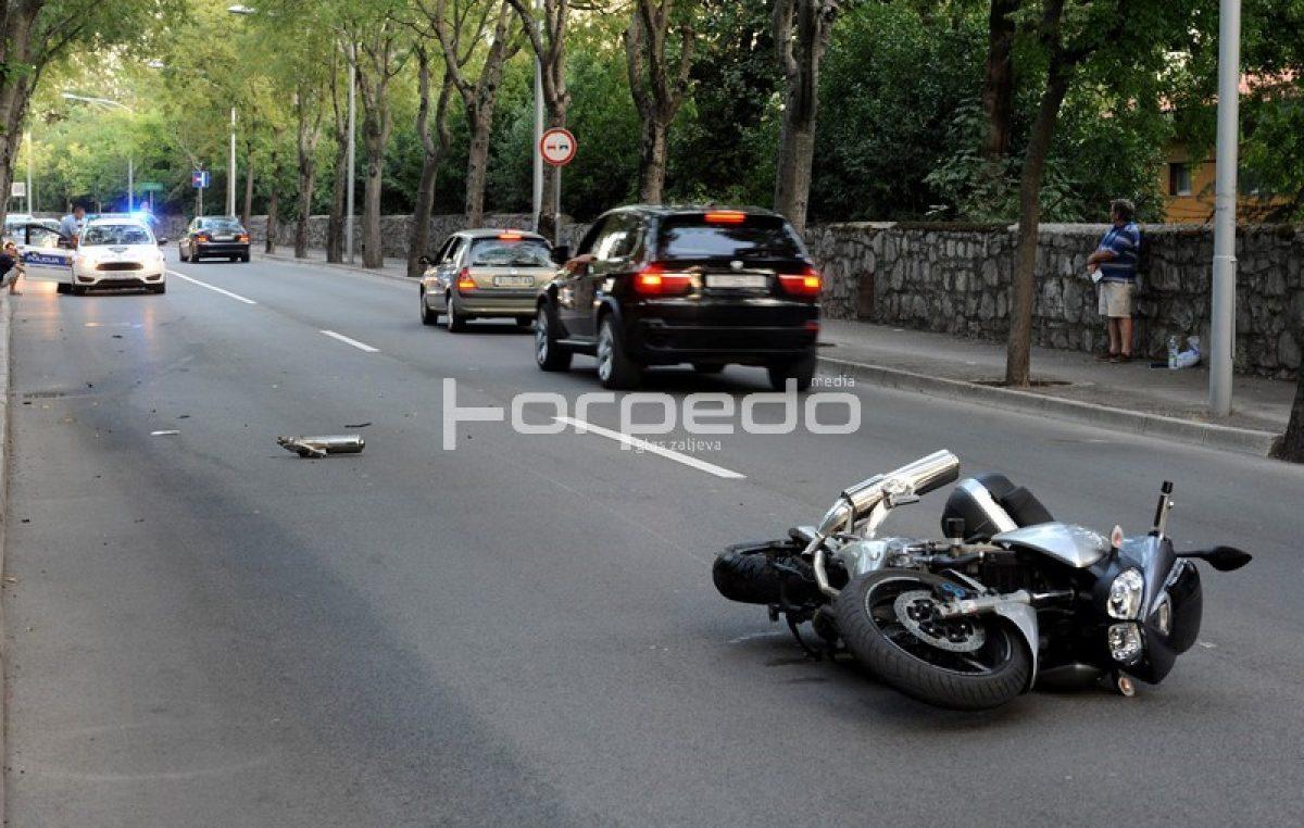U dvije prometne nesreće, dva teško stradala motociklista