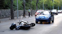 U prometnoj nesreći na Kantridi teže ozlijeđen motociklist